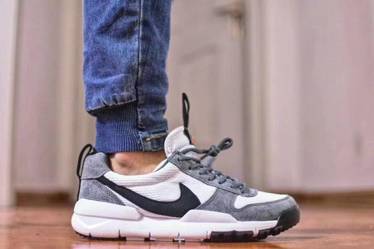 New 2018 Nike Craft Mars Yard TS Nasa 2.0 Grey Upper Vamp & Black Logo Best Quality Shoes
