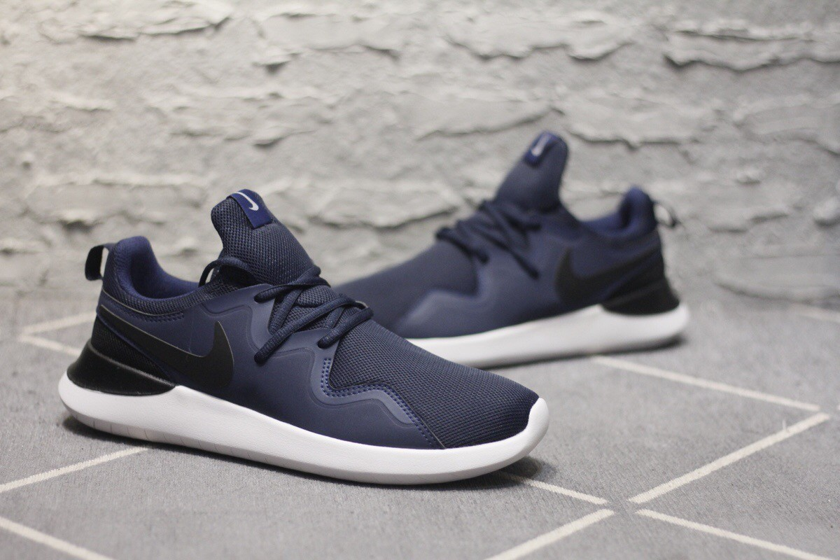 Nike London Dark Blue Couple Runnoing Shoes