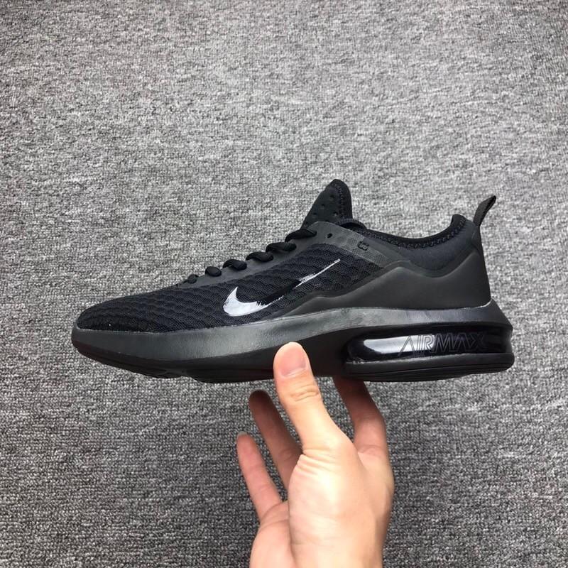 Nike Leisure Air Cushion Black Running Shoes