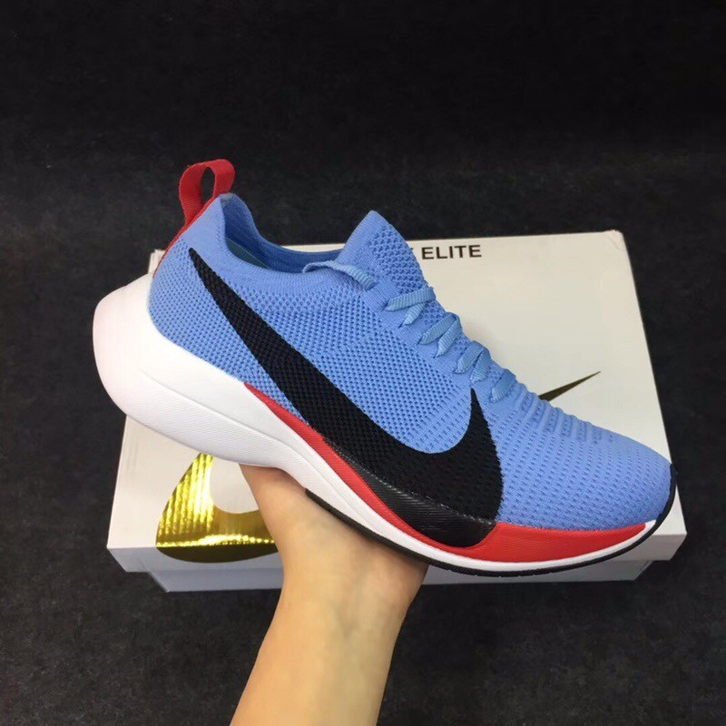 Nike Weaving Fly Line Surface Blue Running Shoes
