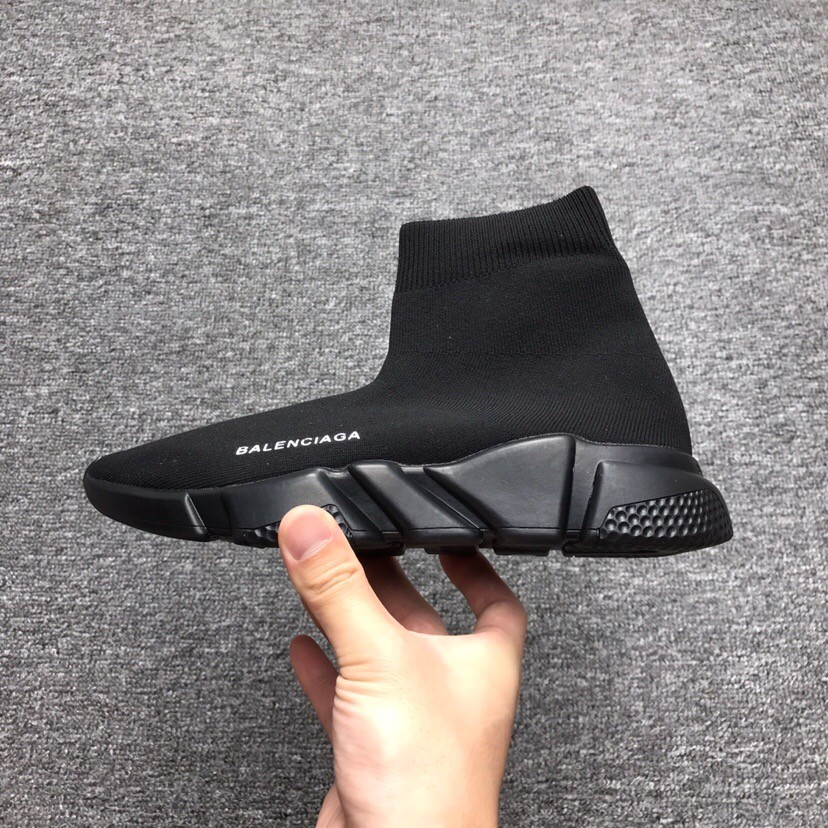 BALENCIAGA Speed trainers Mens Shoes All Black