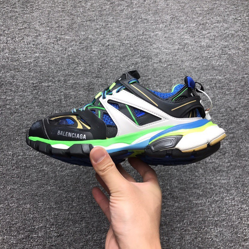 Balenciaga Sneaker Tess.s.Gomma Black&Green Shoes