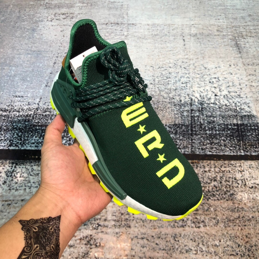 Adidas NMD Green Shoes
