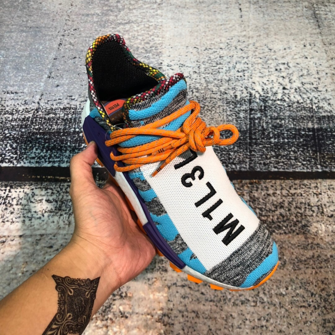 Replica Adidas 菲董 NMD Blue Shoes