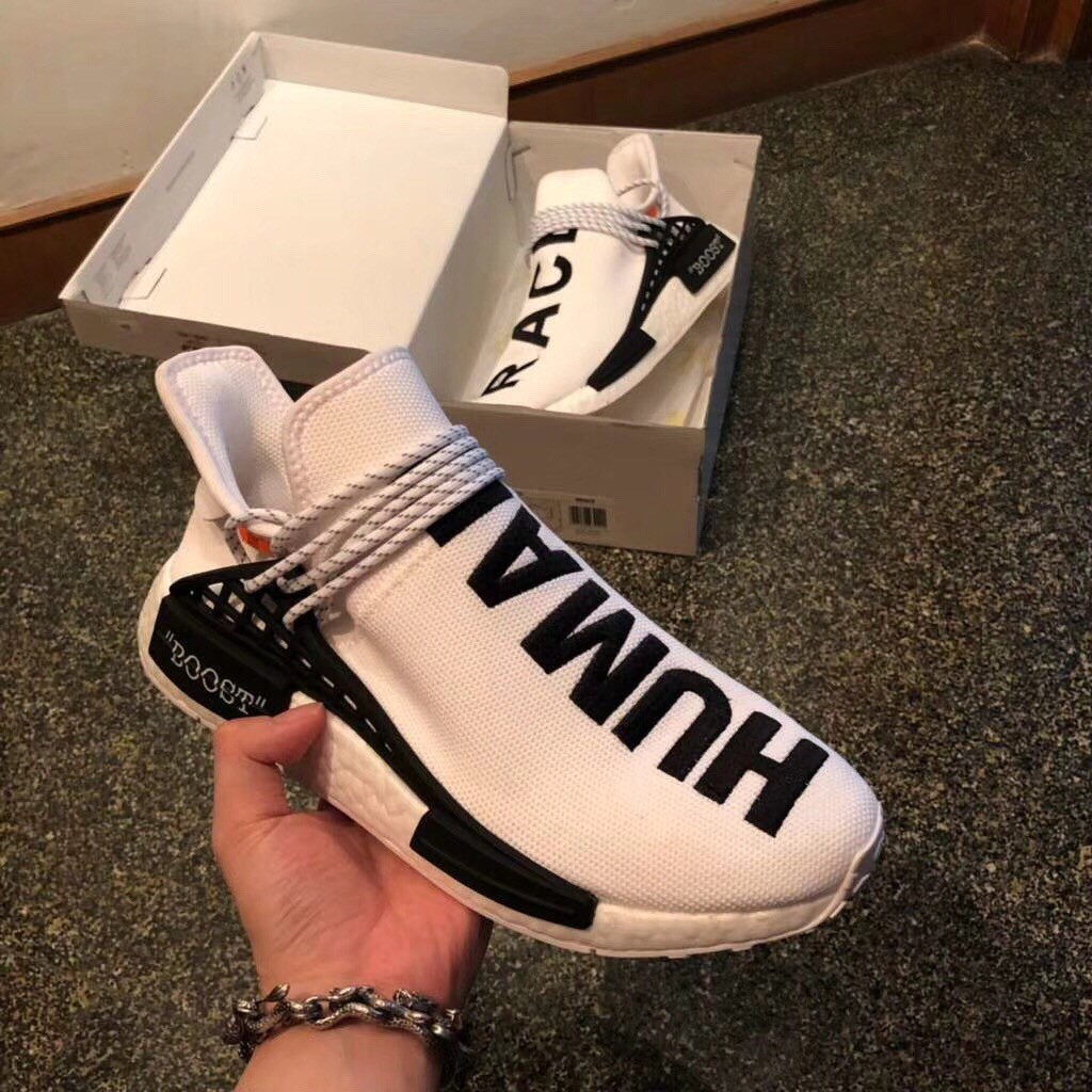 Men's Adidas NMD White Sports Shoes