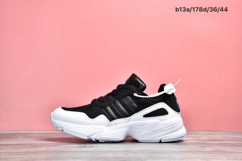 Replica Adidas 96 Retro Daddy Black&White Shoes
