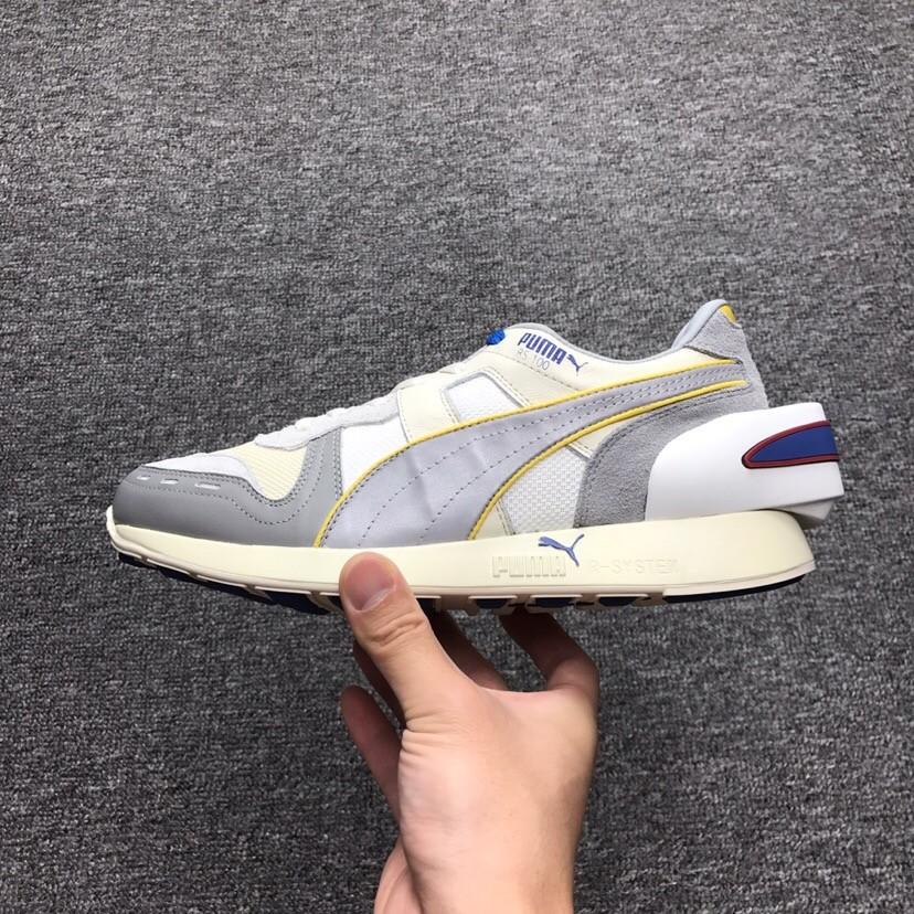 23417dd2fa3 2018 New Replica PUMA Air Boost Retro Sliver White Running Shoes 1 1 ...