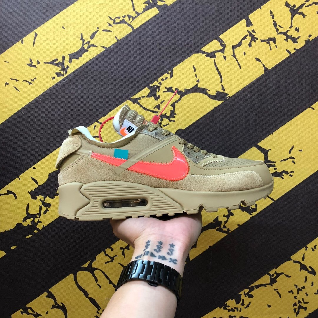OFF-WhiteXNike Air Max 90 2.0 Yellow Shoes