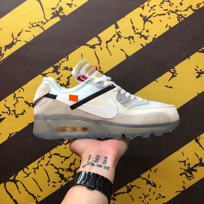 OFF-White XNike Air Max 90 2.0 White Shoes