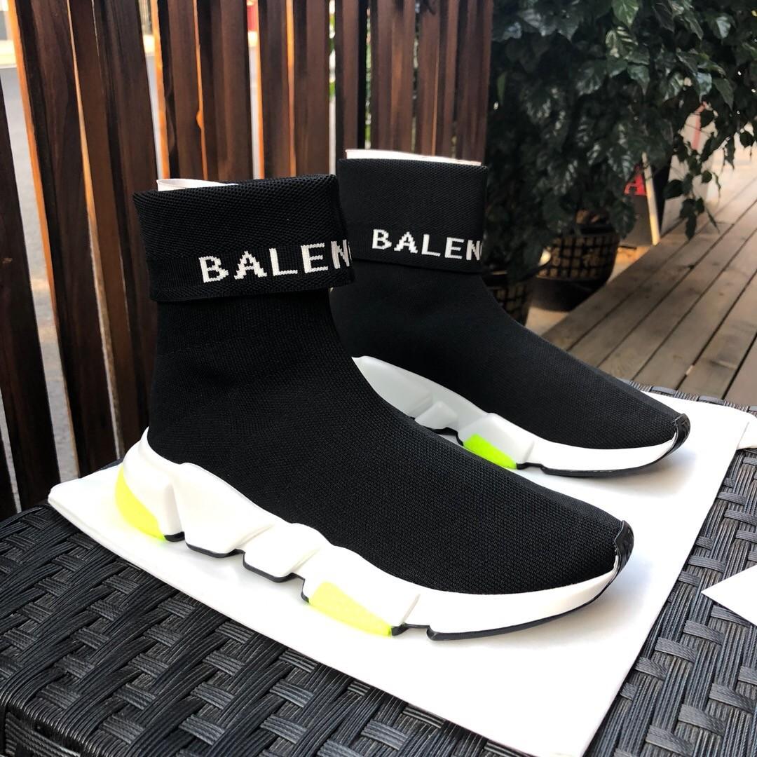 Balenciaga Black Sock Shoes For Sale