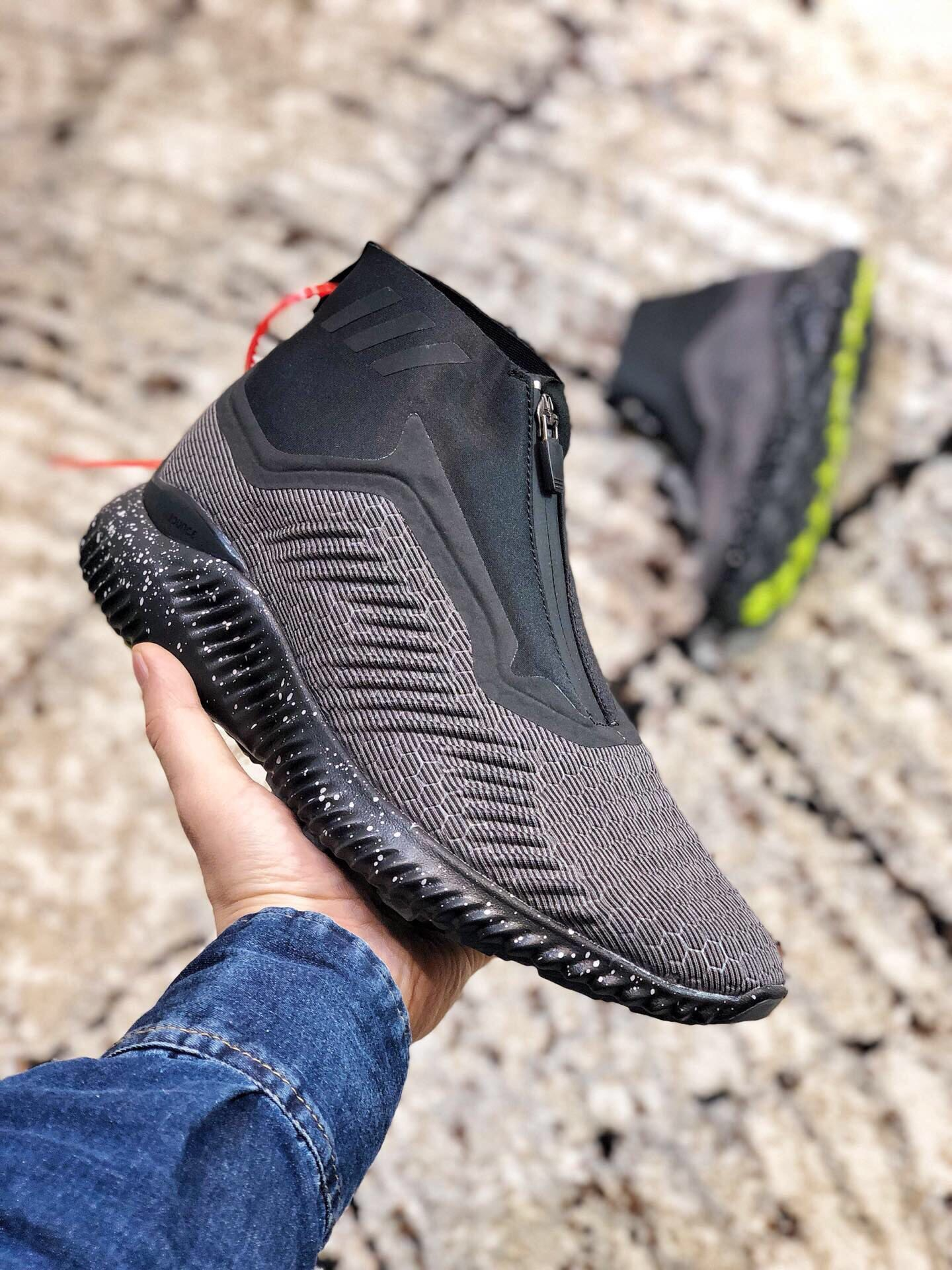 Adidas Alpha Bounce Zip Dark&Grey Shoes