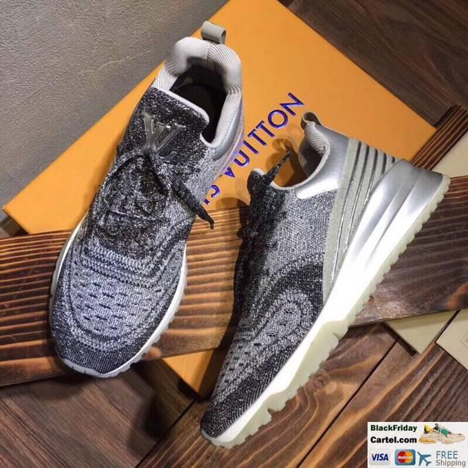 Louis Vuitton Sneakers Mens Flyknit Dark Grey