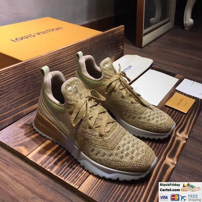 Louis Vuitton Sneakers Mens Flyknit Green