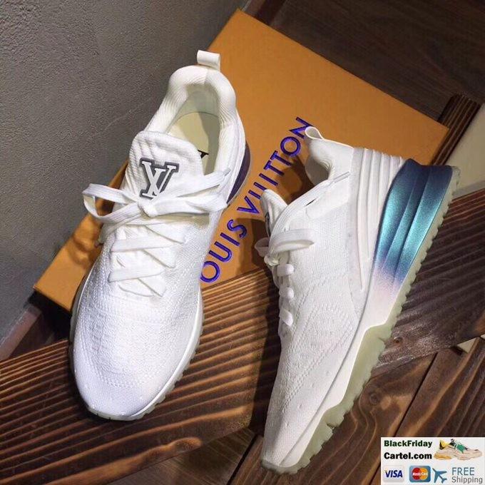 Louis Vuitton Sneakers Mens Flyknit White