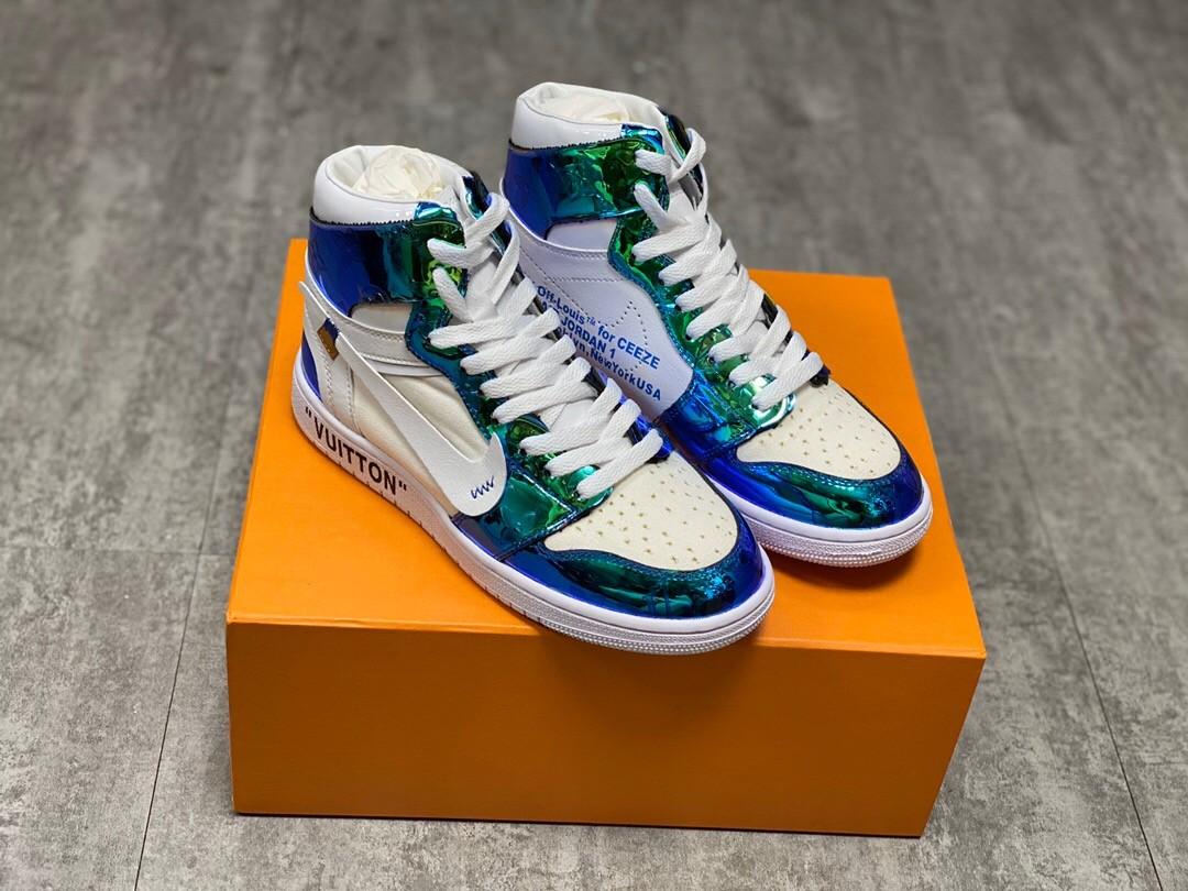 Nike Air Jordan 1S Shoes - Green