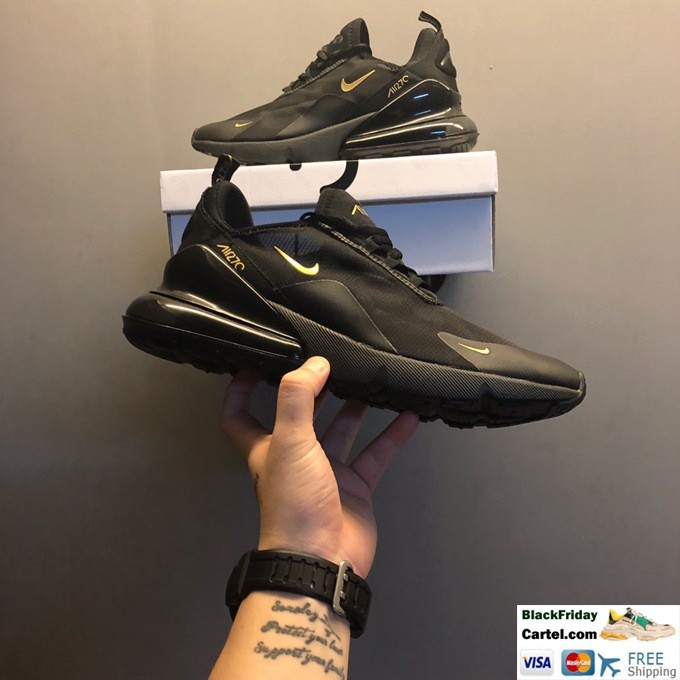 Nike Air Max 270 Sport Shoes For men All Black