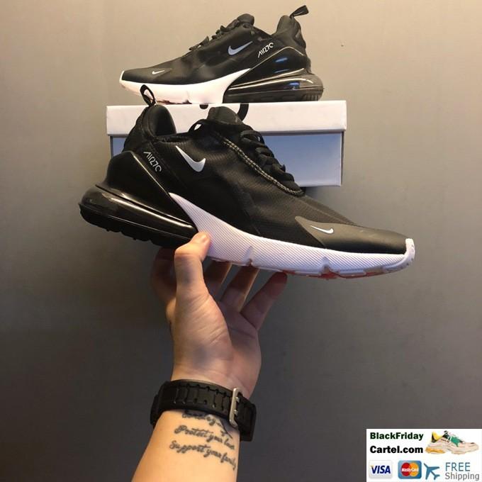 Nike Air Max 270 Sport Shoes For men Black