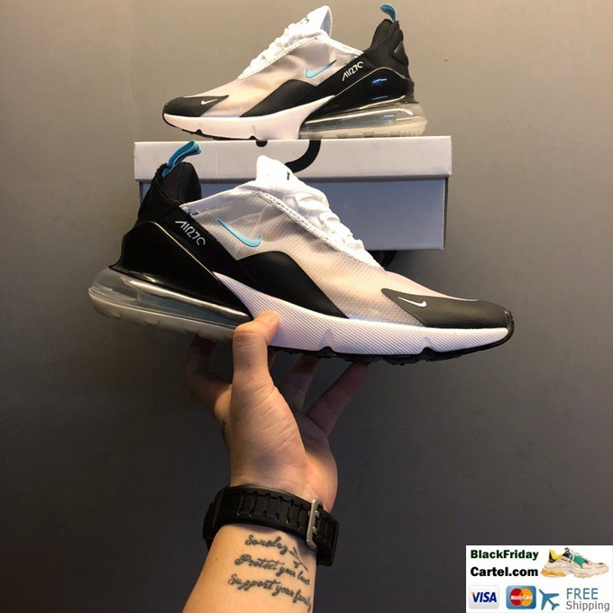 Nike Air Max 270 Sport Shoes For men White & Black
