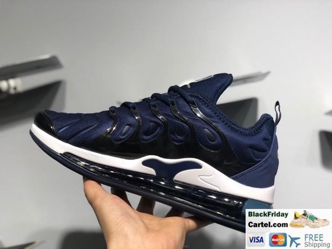 Nike Air Max 720 VM Mens Cushioned Running Shoes Dark Blue