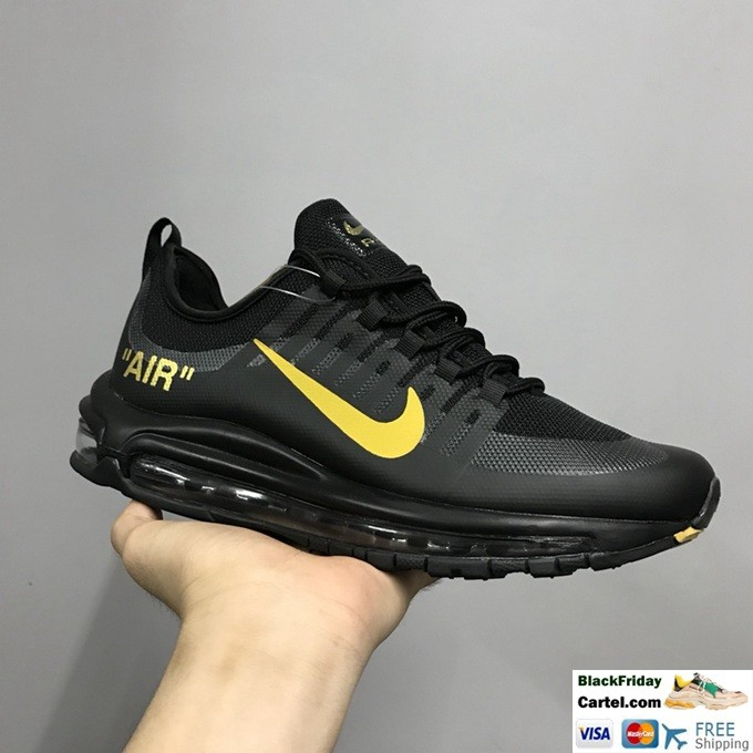 Nike Air Max 98 Axis Men's Black Casual Running Shoes