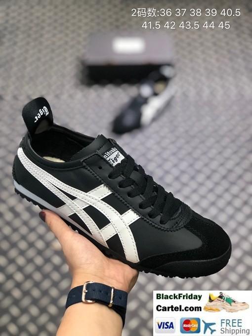 Onitsuka Tiger Mexico 66 Black Shoes