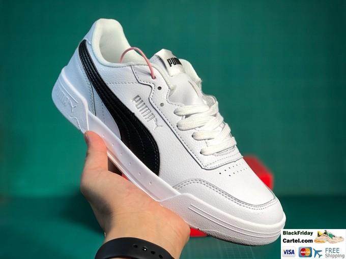 Puma Caracal White & Black Sneaker Shoes