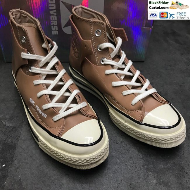 Hight Quality Girl Power x Converse Chuck Taylor All Star Women's High Top  Canvas Shoes