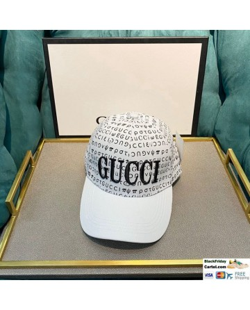 2020 Gucci White Baseball Cap and Hat Best Online For Sale