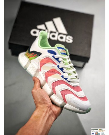2020 Summer Adidas Climacool White & Pink Running Shoes