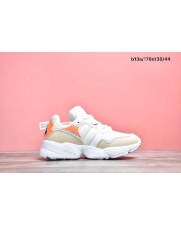 Replica Adidas 96 Retro Daddy Orange&White Shoes