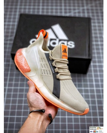 Adidas Alphabounce Beige & Orange Sneakers