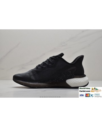 Adidas Alphabounce Men's Black & White Sneakers