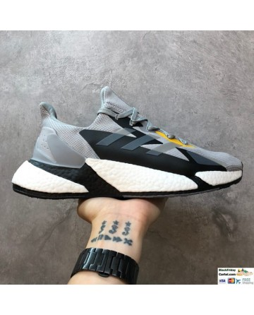 Adidas Boost X9000L4 Boost White & Grey & Black