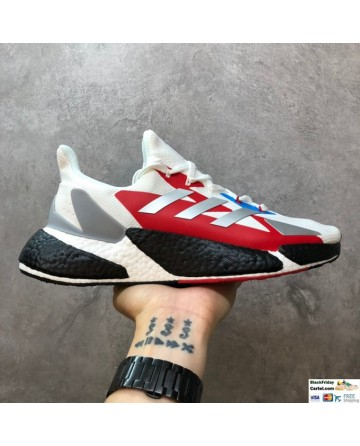 Adidas Boost X9000L4 Boost White & Red & Black