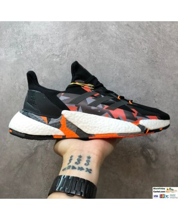 Adidas Boost X9000L4 Camouflage Running Shoes