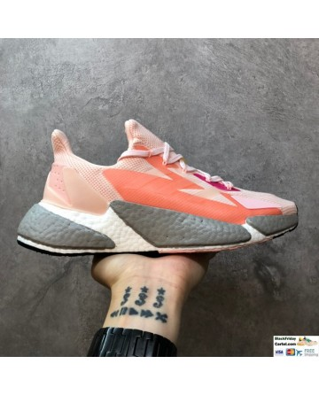 Adidas Boost X9000L4 Pink Running Shoes