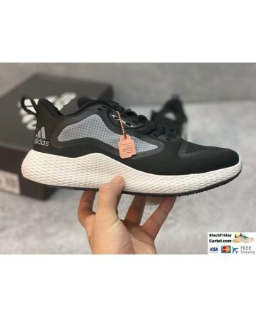 Adidas Edge RC 3 Black & White Mesh Upper Running Shoes