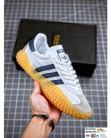 Adidas Kamanda White and Black Sneakers