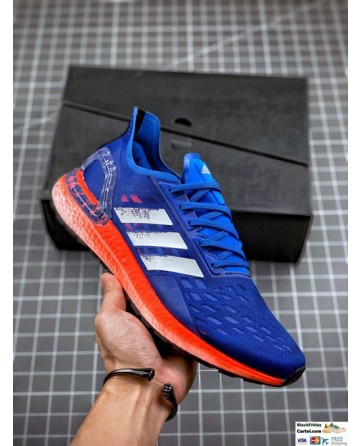 Adidas Ultra Boost 6.0 PB Blue & Red Sneaker