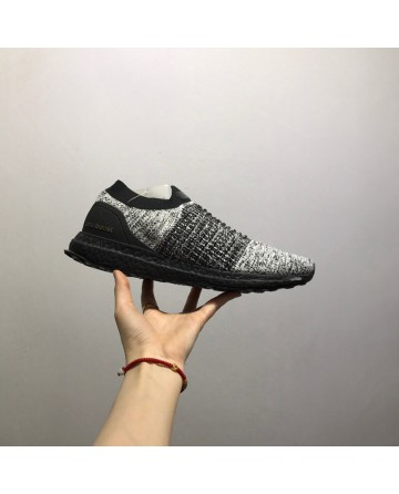 Adidas Ultra Boost Laceless Running Shoes Grey