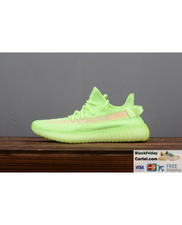Adidas Yeezy Boost 350 V2 GID Fluorescent Green Trainer Mens