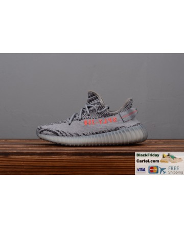 Adidas Yeezy Boost 350 V2 Grey Trainers Mens Original Size