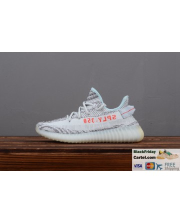Adidas Yeezy Boost 350 V2 Ice Blue Men's Running Shoes