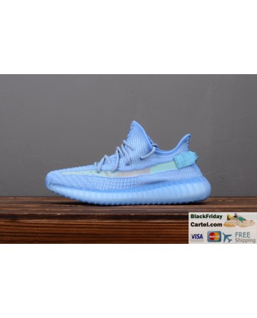 Adidas Yeezy Boost 350 V2 Shallow Blue Trainers