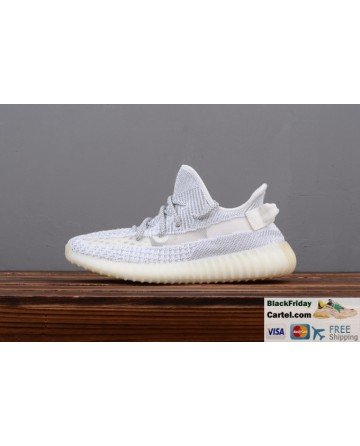 Adidas Yeezy Boost 350 V2 Static Reflective White Trainer Mens