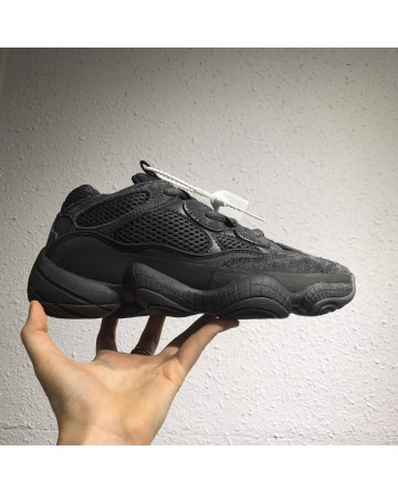 Adidas Yeezy Boost 500 Black Shoes