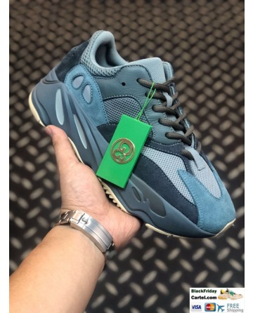 Adidas Yeezy Boost 700 V2 Blue Shoes For Sale