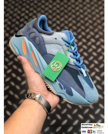 Adidas Yeezy Boost 700 V2 Shoes Blue & Grey