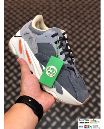 Adidas Yeezy Boost 700 V2 Shoes Grey & White