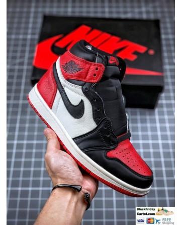 Air Jordan 1 Retro High OG 'Black Toe' Shoes